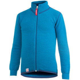 Woolpower Kids 400 Full Zip Jacket dolphin blue